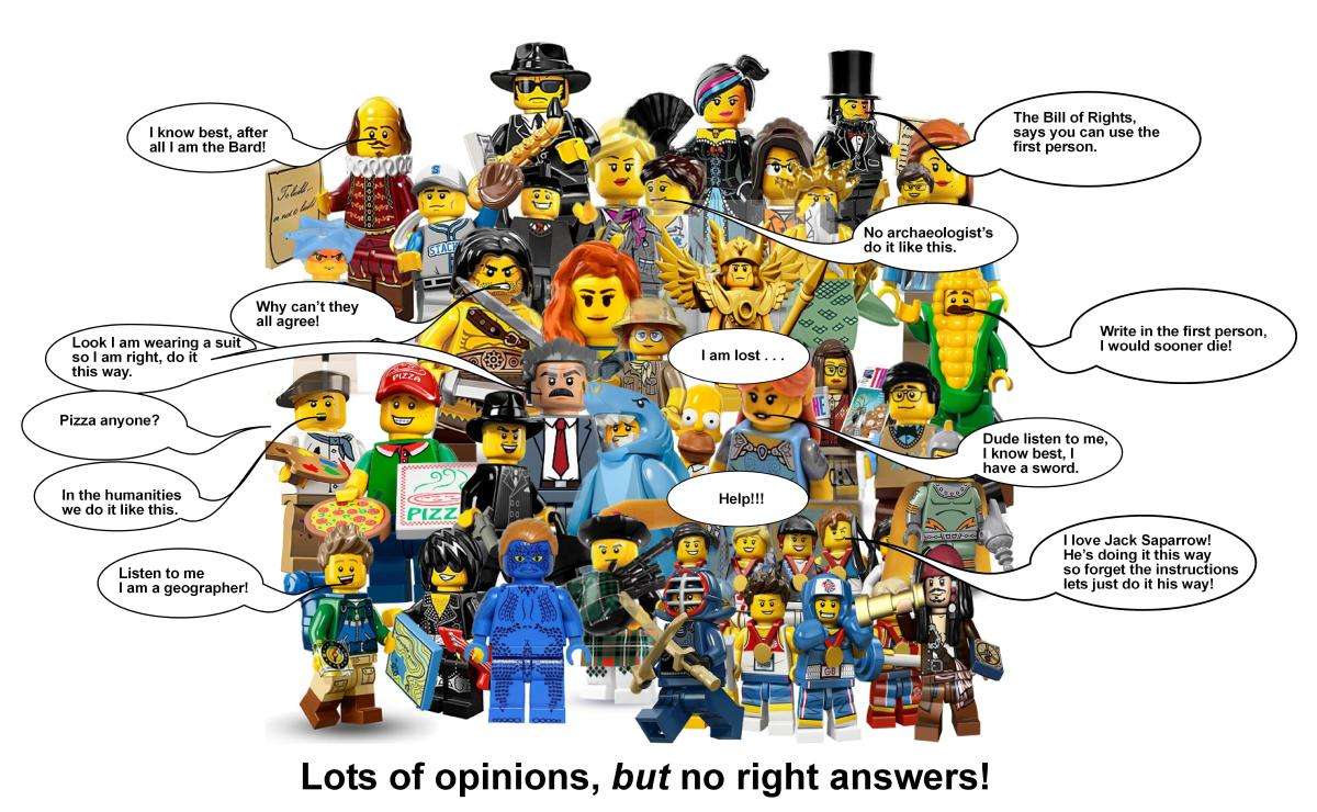 Academic writing I: Lots of opinions no right answers or dealing withuncertainty